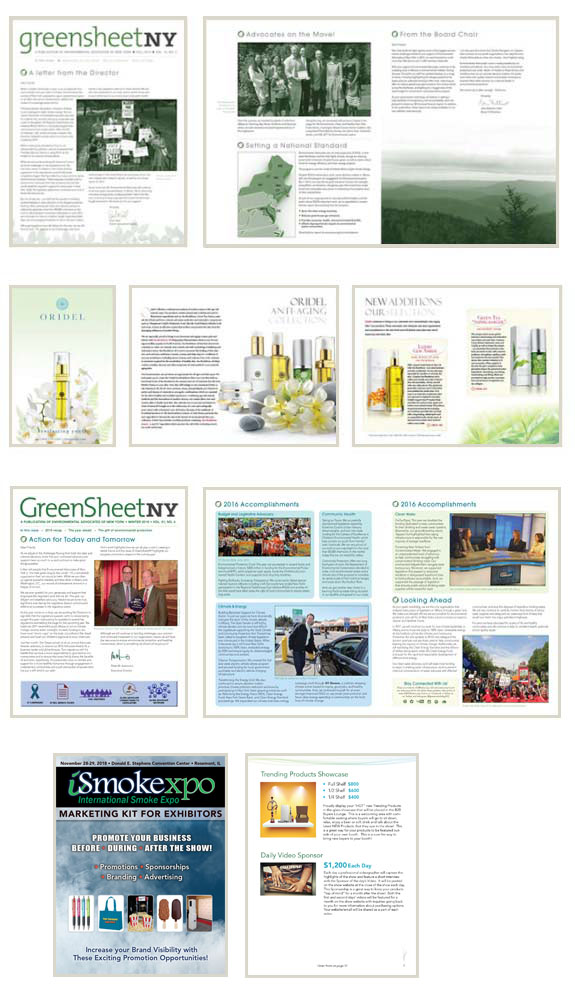 brochures innovative design graphics