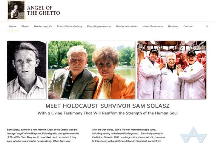 angel of the ghetto holocaust survivor stories